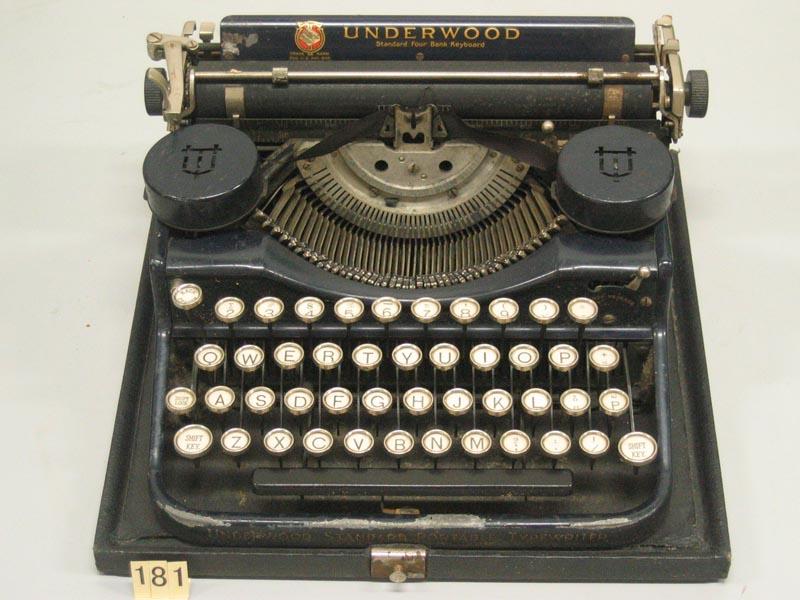 携帯用タイプライター | 卓上計...
